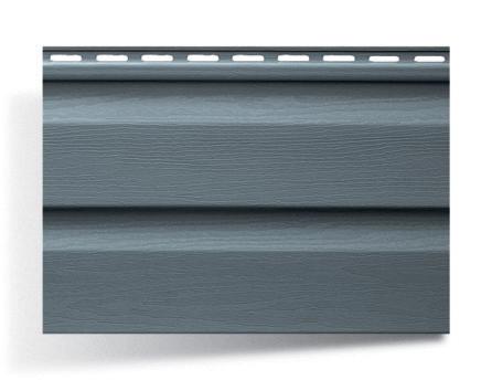 Серо-голубой сайдинг 230х3660x12 мм