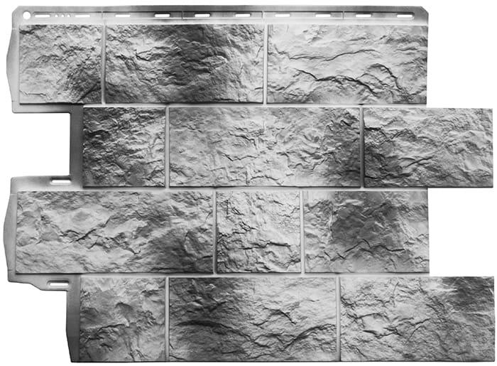 Панель Туф Камчатский размер: 796х591x26 мм