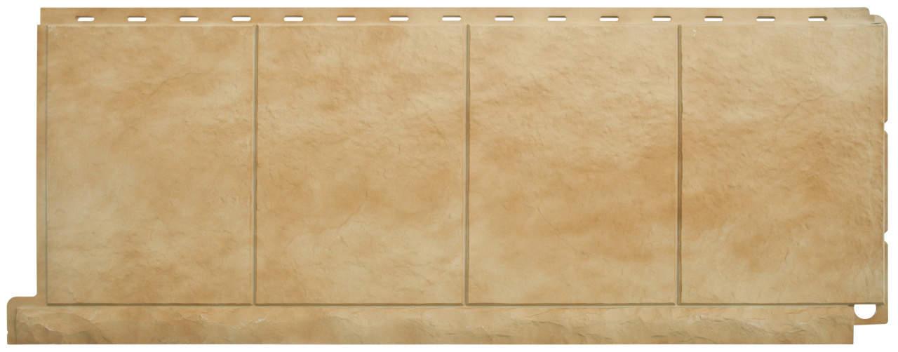 Панель фасадная плитка травертин 1162х446x16 мм
