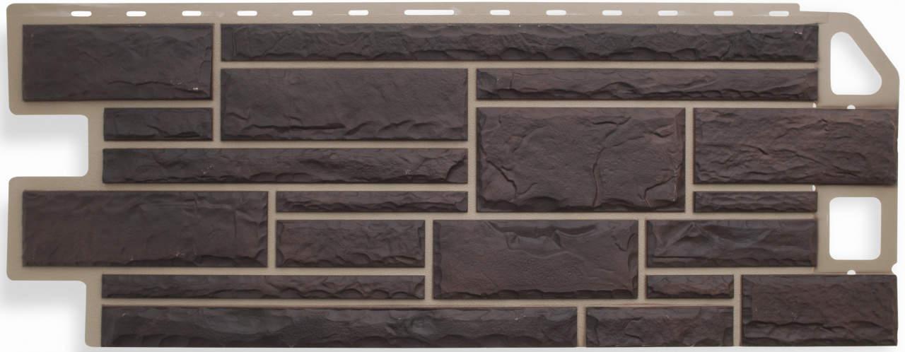 Панель камень Жженый размер: 1135х474x23 мм