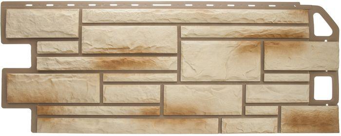 Панель камень Ракушечник размер: 1135х474x23 мм