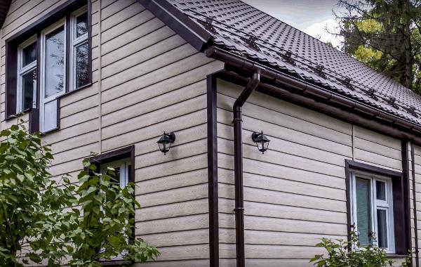 вспененный сайдинг тимбер клен фото дома