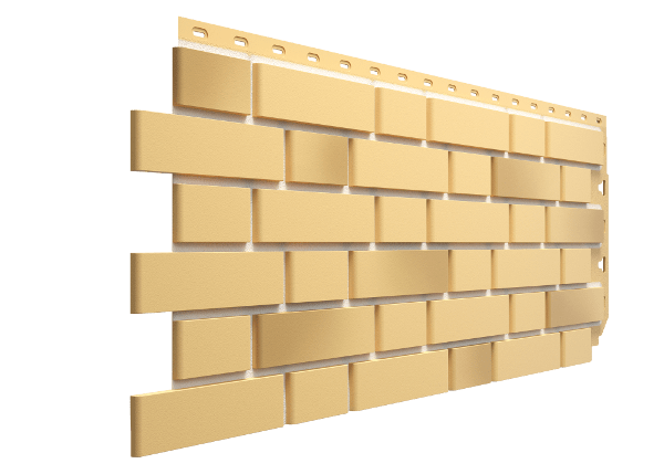 Панель FLEMISH жёлтый жженый 1095х420x17mm