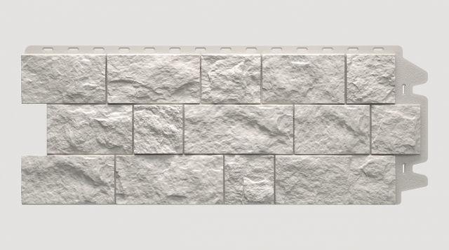 Фасадная панель Docke FELS Арктик 1052x425x30 mm