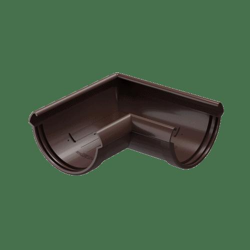 Docke Водостоки LUX Угол 90 (ШОКОЛАД)