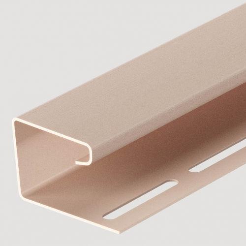 Docke j-профиль 16 мм Крем-брюле