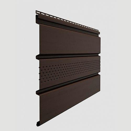 Docke Софит T4 центральной перфорацией Шоколад 3000x305 мм