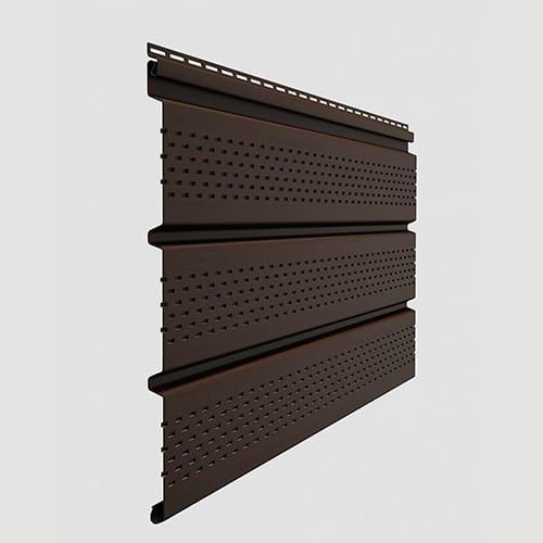 Docke Софит T4 полной перфорацией Шоколад 3000x305 мм