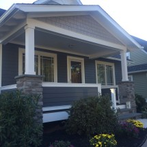 AZEK Trim and Hardie Siding