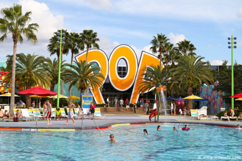 This image has an empty alt attribute; its file name is Pop-Century-Resort-Pools-010.jpg