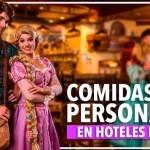 Comidas con personajes en los hoteles de Disney World