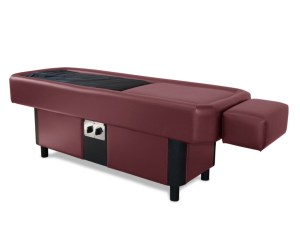 burgundy hydromassage table