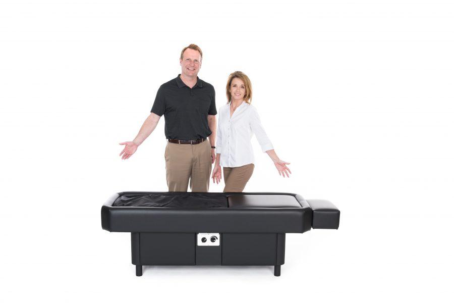 black table couple