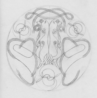A Method of Drawing Celtic Knotwork - Weaves, by Sidney Eileen