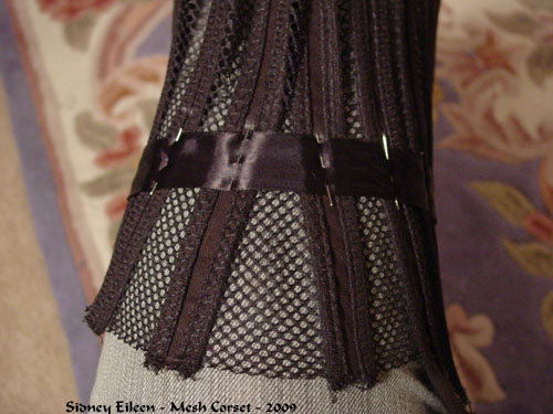 How to Make a Sport Mesh Corset - 13, by Sidney Eileen