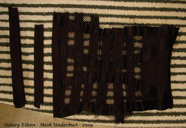How to Make a Sport Mesh Corset - 19, by Sidney Eileen