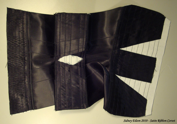 How to Make a Basic Ribbon Corset, by Sidney Eileen