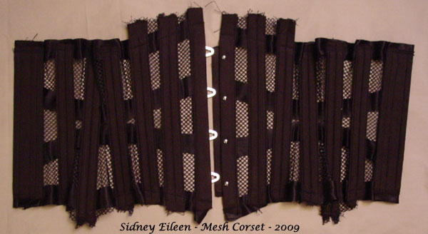 How to Make a Sport Mesh Corset - 28, by Sidney Eileen