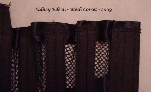 How to Make a Sport Mesh Corset - 29, by Sidney Eileen