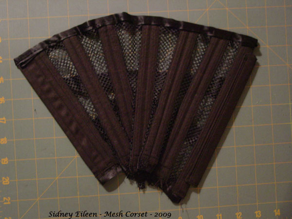 How to Make a Sport Mesh Corset - 34, by Sidney Eileen