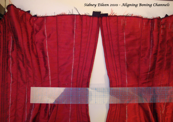 Boning Channel Alignment Trick - 5, by Sidney Eileen