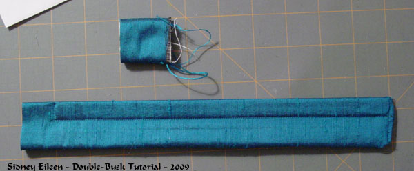 How to Add a Double-Busk to a Corset - Minimal Pocket - 08, by Sidney Eileen