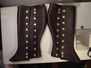 Leather Gaiters - V.1.0