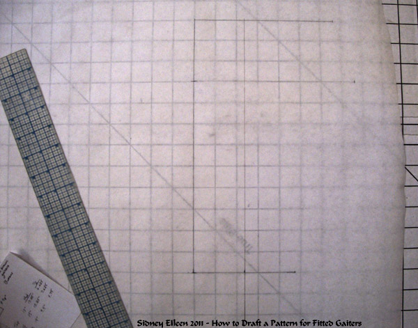 How to Draft a Pattern for Fitted Gaiters, by Sidney Eileen
