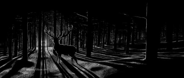 Title: The Longest Night, Artist: Sidney Eileen