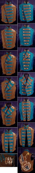 Colorful Violin Vest, by Sidney Eileen
