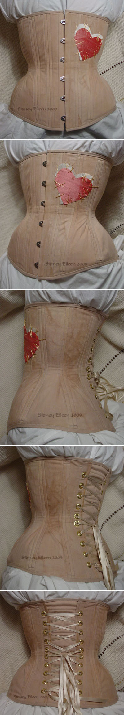 """Rag Doll"" Underbust - All Views, by Sidney Eileen"