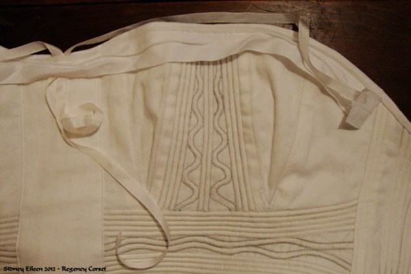 How to Add a Bust Ribbon to a Corset, by Sidney Eileen