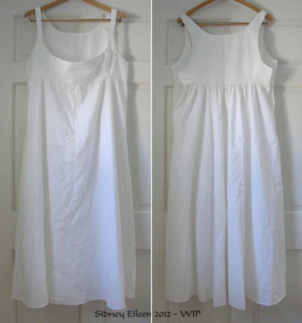 Bodiced Petticoat - WIP1
