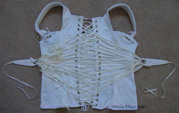 Corded Regency Corset - Finished, How to Make a Corded Regency Corset, by Sidney Eileen