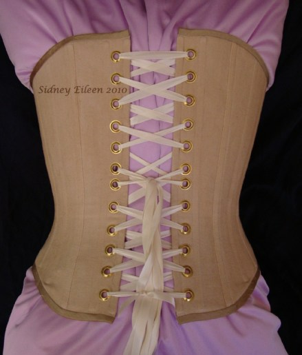 Tea Stained Spoon Busk Victorian - Version 1 - Back View, by Sidney Eileen