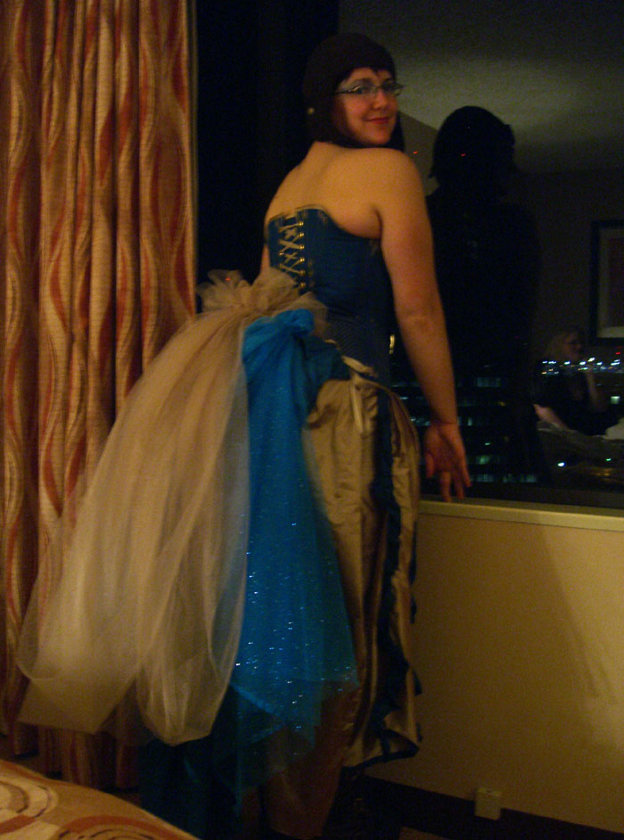 Steamy Burlesque Epic Bustle, by Sidney Eileen