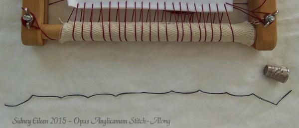 Opus Anglicanum Stitch-Along 007, by Sidney Eileen