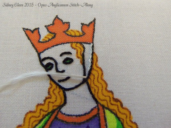 Opus Anglicanum Stitch-Along 048, by Sidney Eileen