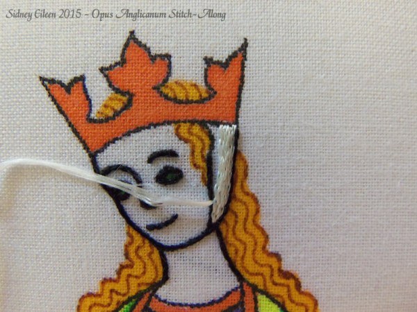 Opus Anglicanum Stitch-Along 050, by Sidney Eileen