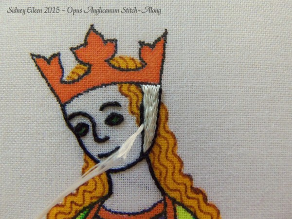 Opus Anglicanum Stitch-Along 052, by Sidney Eileen