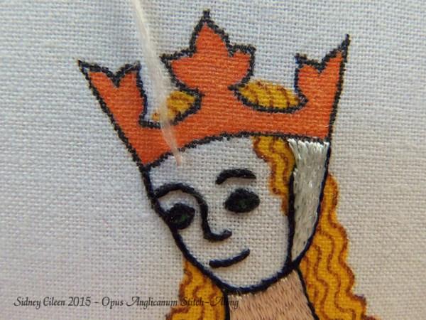 Opus Anglicanum Stitch-Along 069, by Sidney Eileen