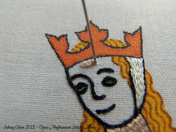 Opus Anglicanum Stitch-Along 079, by Sidney Eileen