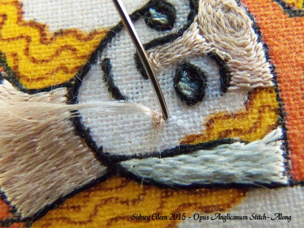 Opus Anglicanum Stitch-Along 104, by Sidney Eileen