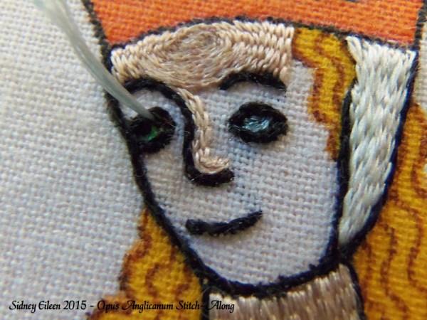 Opus Anglicanum Stitch-Along 114, by Sidney Eileen