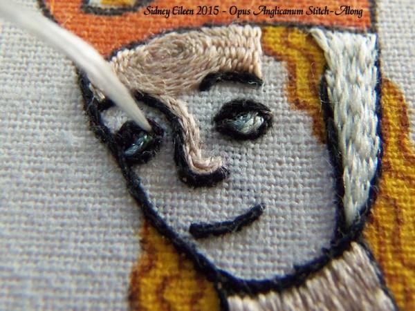 Opus Anglicanum Stitch-Along 118, by Sidney Eileen