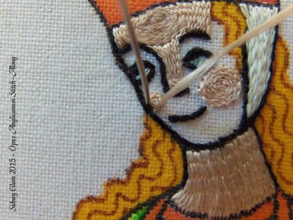 Opus Anglicanum Stitch Along - 120, by Sidney Eileen
