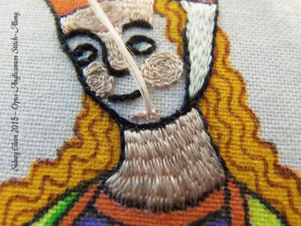 Opus Anglicanum Stitch Along - 125, by Sidney Eileen