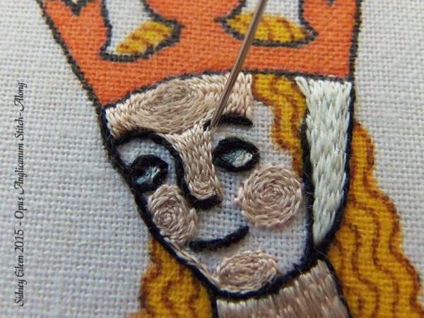 Opus Anglicanum Stitch Along - 130
