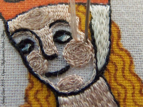 Opus Anglicanum Stitch Along - 140, by Sidney Eileen