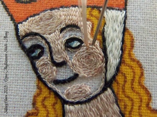 Opus Anglicanum Stitch Along - 147, by Sidney Eileen